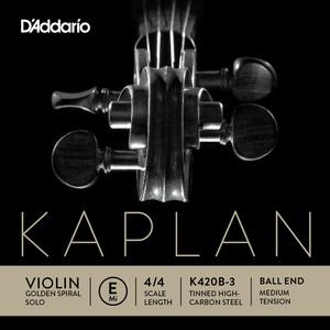 Kaplan Golden Spiral Solo Violin String, E