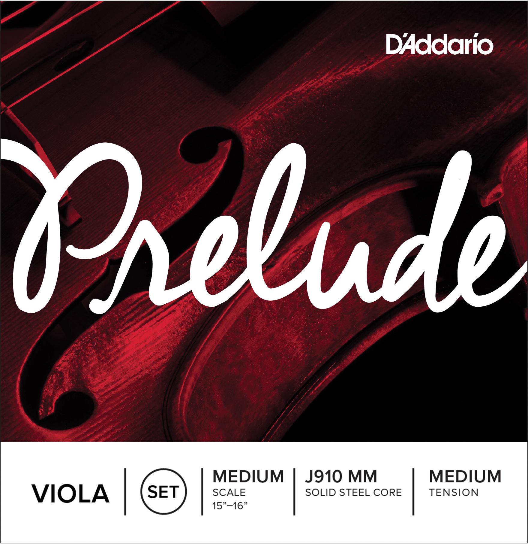 D'Addario Prelude Viola Strings, Set. (22% off) | D'Addario
