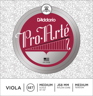 Pro Arte Viola Strings, Set