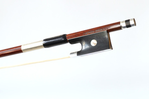 Silver and Ebony Mounted Violin Bow by A. Knoll