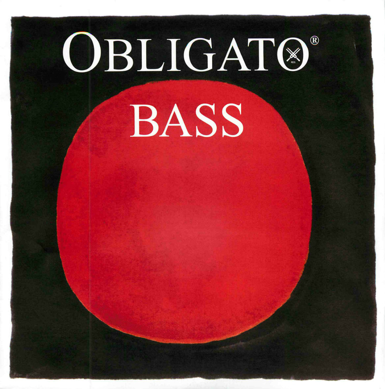 Image of Pirastro Obligato Double Bass String, Low B