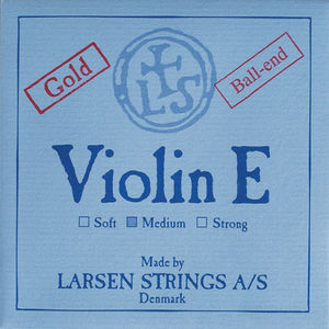 Larsen Violin String, E Steel