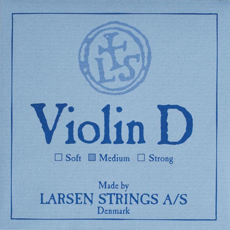 Image of Larsen Violin String, D Aluminium