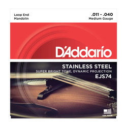 D'Addario EJS74 Mandolin Strings, SET