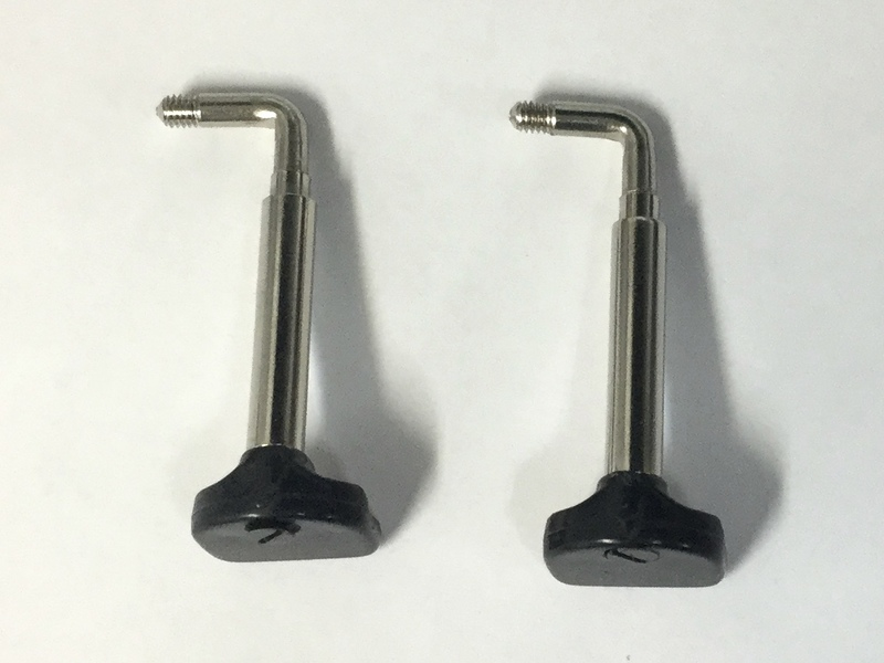 Image of Wolf Chin Rest Clamps