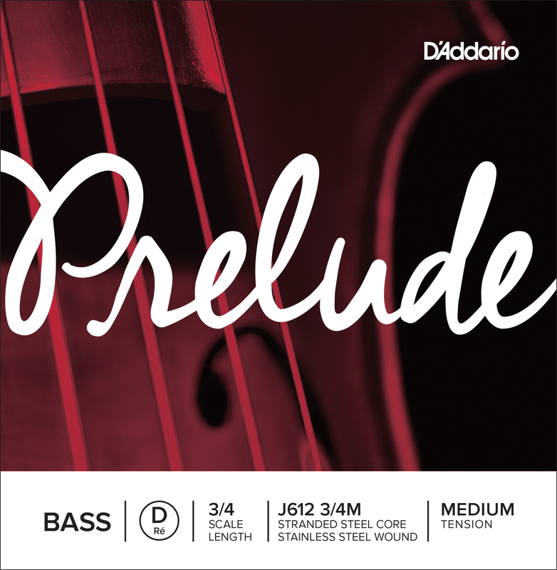 Image of Prelude Double Bass String, D