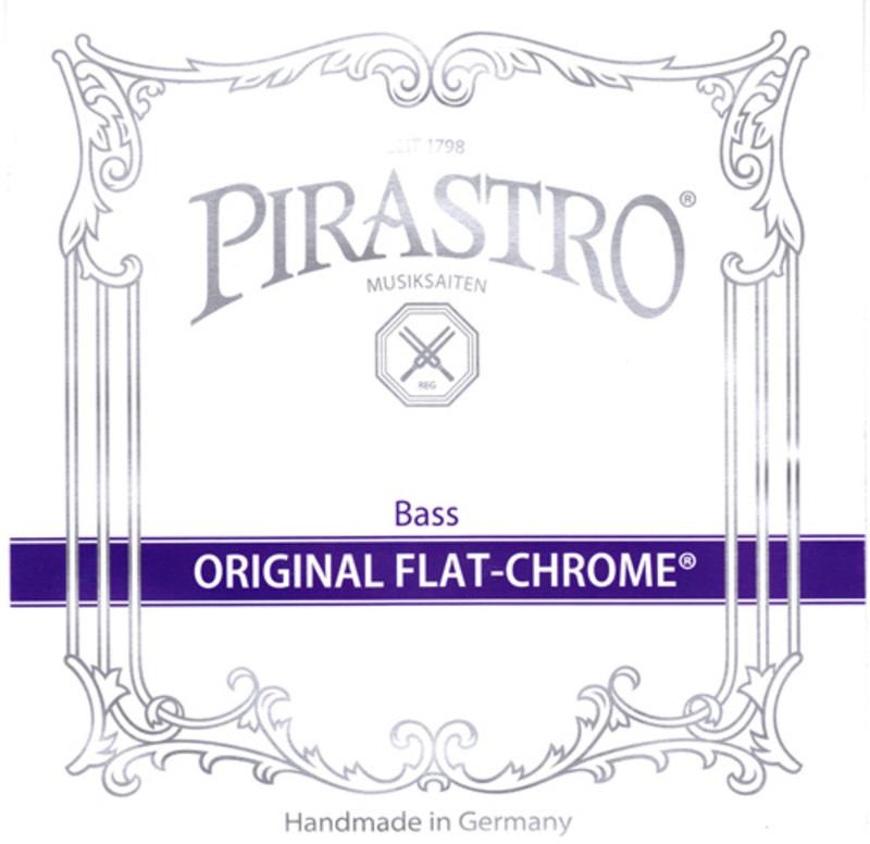 Image of Pirastro Original Flat-Chrome Double Bass String, C#5 Solo