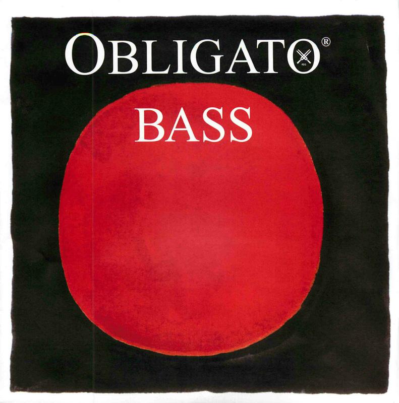 Image of Pirastro Obligato Double Bass String, F#4 Solo