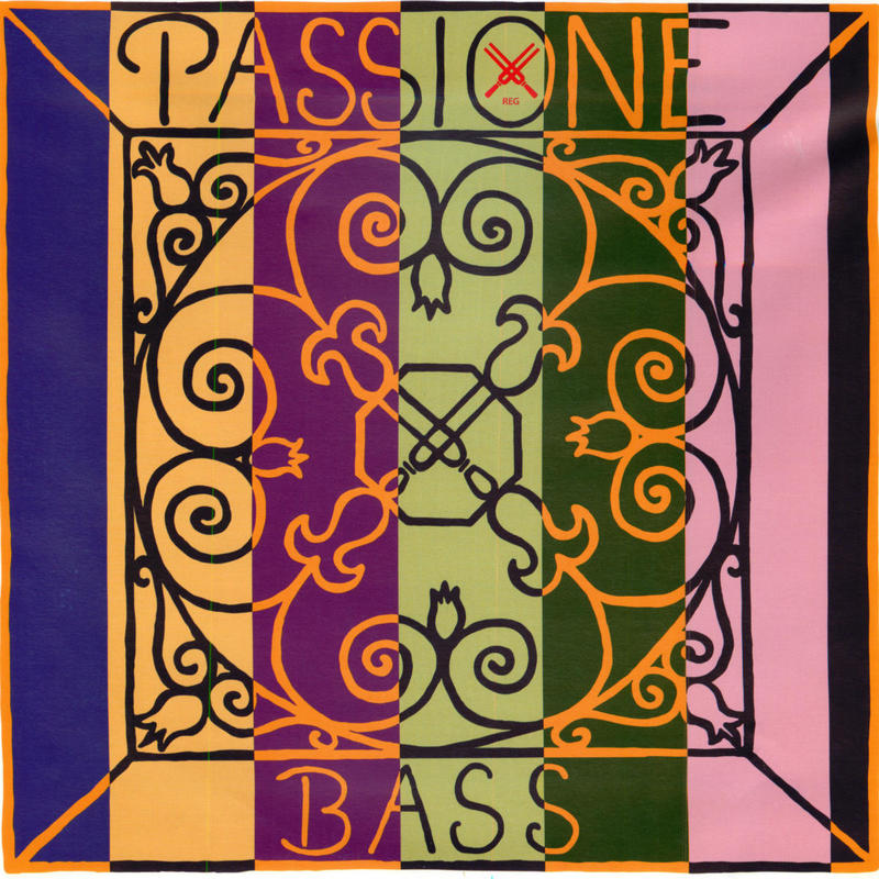 Image of Pirastro Passione Double Bass Strings. SET, Solo