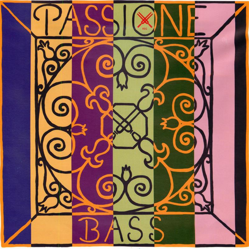 Image of Pirastro Passione Double Bass Strings. E2, Solo