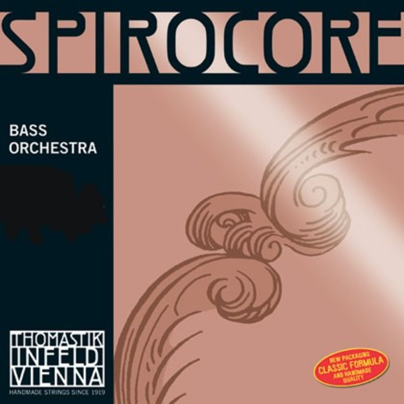 Image of Thomastik Spirocore Double Bass String, F#4 Solo