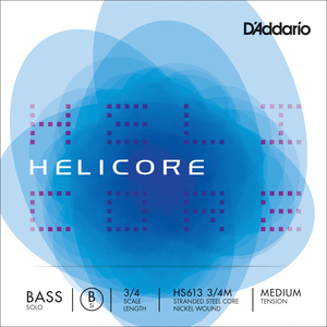 Helicore Solo Double Bass String, B3