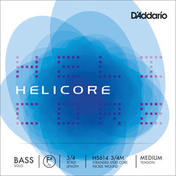Helicore Solo Double Bass String, F#4