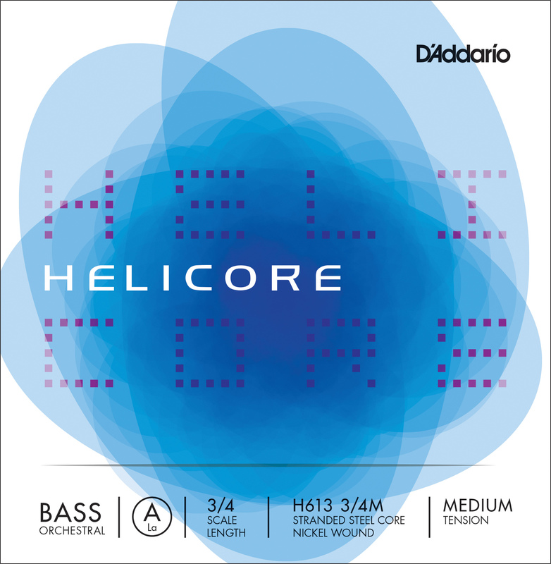 Image of D'Addario Helicore Double Bass String, A