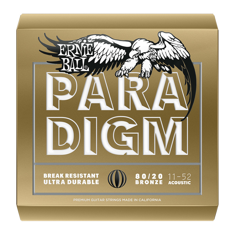 Image of Ernie Ball Paradigm Acoustic Guitar Strings, SET