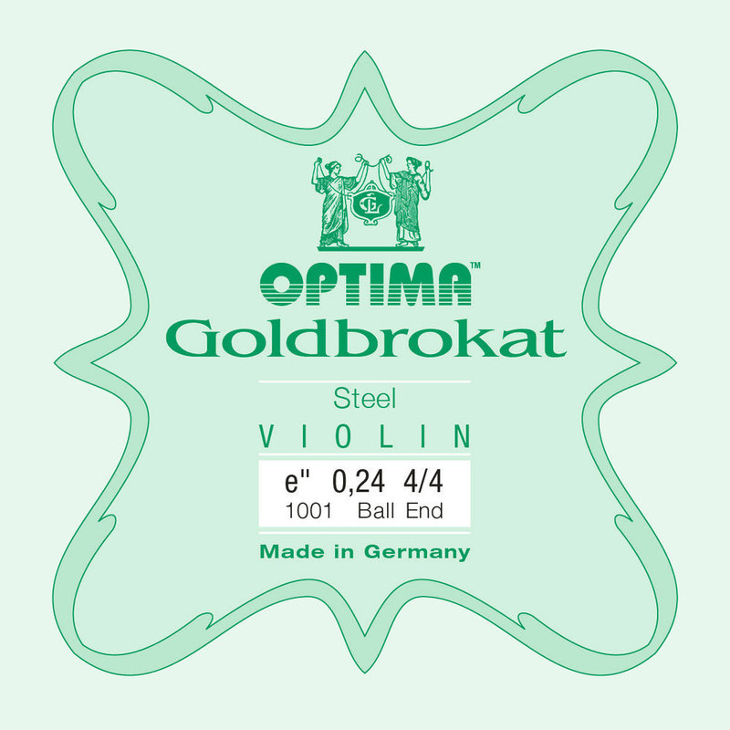 Image of Optima Goldbrokat Violin E String, Steel
