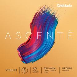 D'Addario Ascenté Violin String, E