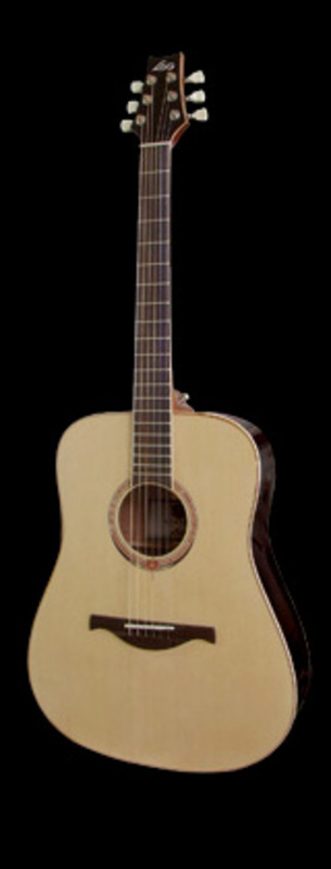 Image of 'Winter' Acoustic guitar by LAG Guitars, France