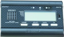 Seiko SAT 100 Guitar and Bass Tuner
