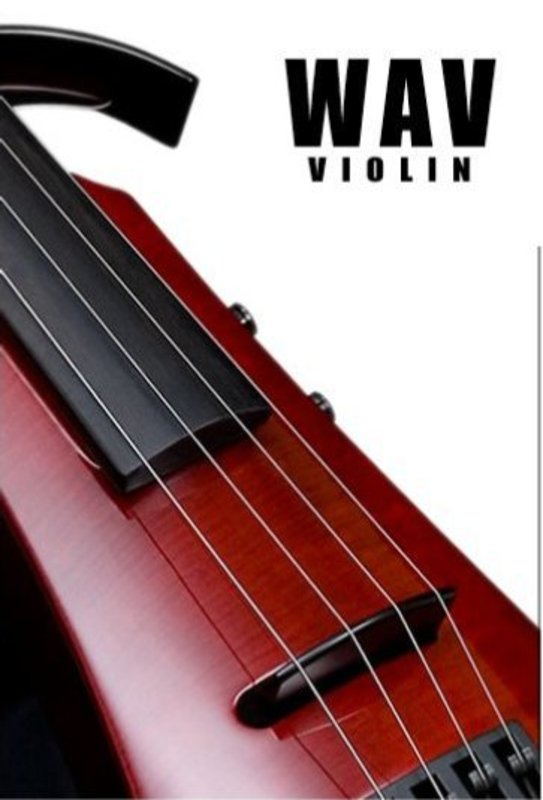 Image of NS-WAV electric violin by Ned Steinberger Design